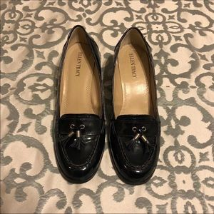 Navy Blue Patent Leather